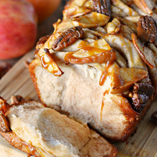 Apple Pecan Monkey Bread.