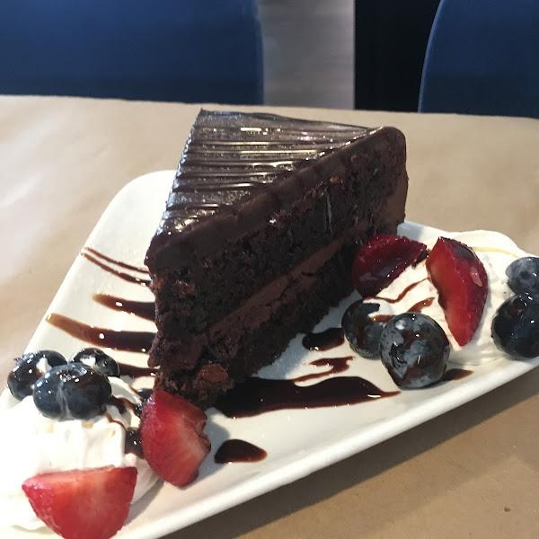 Delicious GF cake!