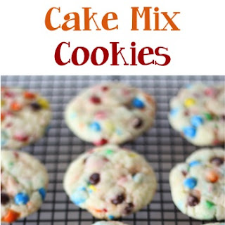 Funfetti M&M Cake Mix Cookies Recipe!