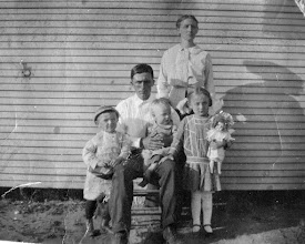 Photo: Barrett, Flora, Eck, Lloyd, and Zela Franks c1914