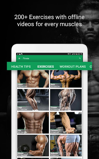 Fitvate - Home & Gym Workout Trainer Fitness Plans 6.8 screenshots 9