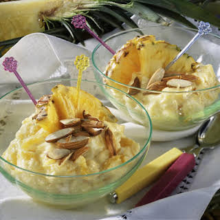 Creamy Pineapple Custard.