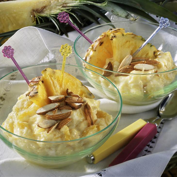 Creamy Pineapple Custard