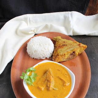 Black Pomfret Curry | Halwa Fish Curry | Goan Black Pomfret Hooman