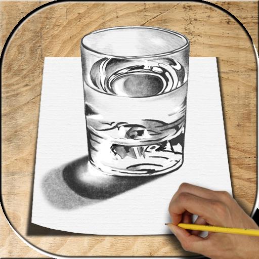 تعليم الرسم ثلاثي الأبعاد Icon