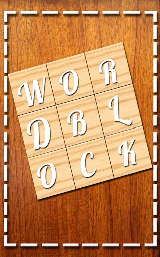 Word Block-Letter Brain Puzzle