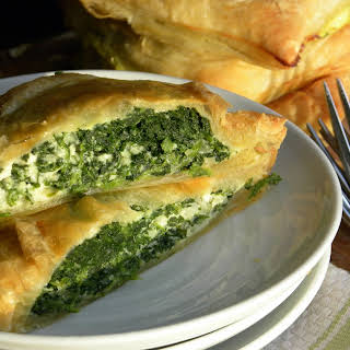 Puff Pastry Spinach Pie.