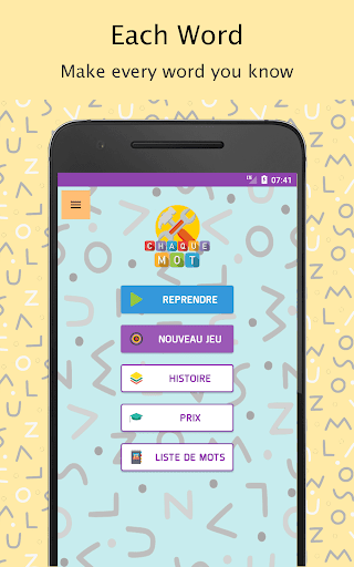 Each Word - French (Chaque Mot) android2mod screenshots 1