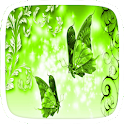 Green Butterfly Theme icon