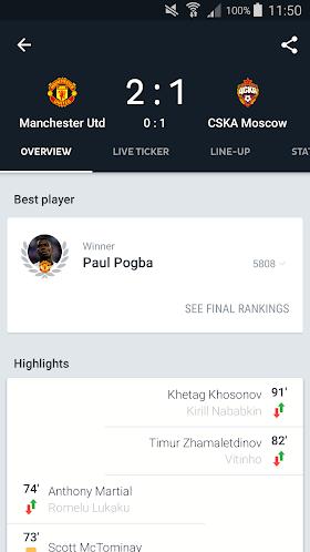Onefootball Live Soccer Scores 10.8.1.330 (Mod Debloated) APK