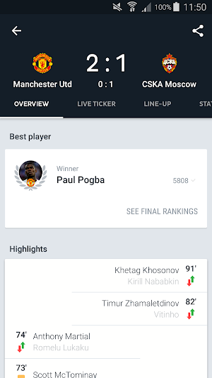 Onefootball Live Soccer Scores 10.8.1.330 (Mod Debloated) APK