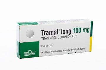 Tramal Long 100Mg Cáp.   Caja x10Cap. Grünenthal Clorhidrato de Tramadol