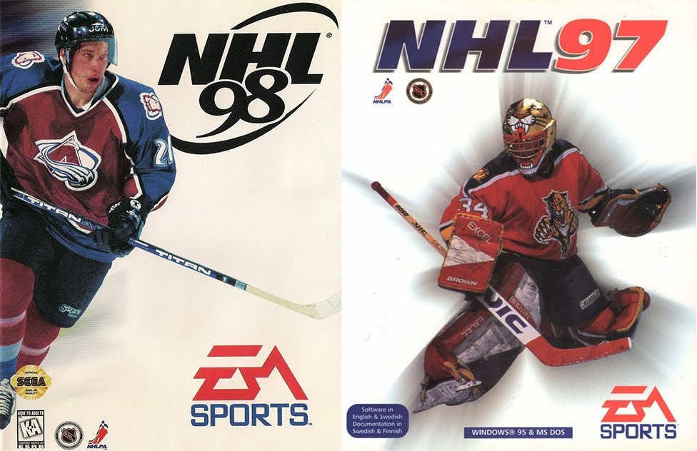 hokej w Kanadzie, NHL 97, NHL 97, gra, okładka