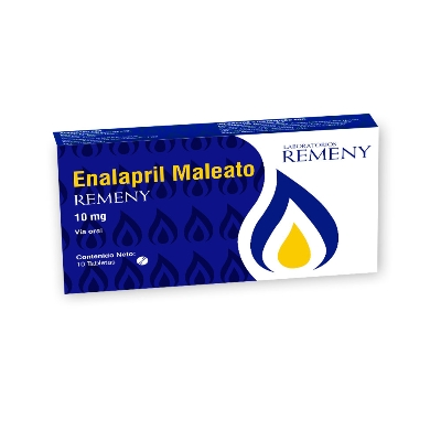 enalapril 10mg 10tabletas remeny