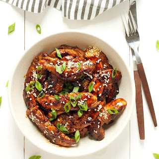 Easy Sticky Asian Chicken.