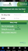Screenshot of Vietcombank