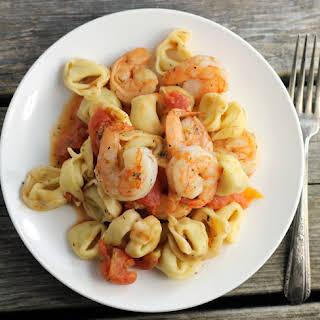 Garlic Shrimp Tortellini.