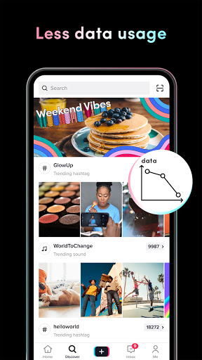 TikTok Lite 16.5.2 Screenshots 3