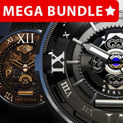 Designer Mega Clock Bundle LWP