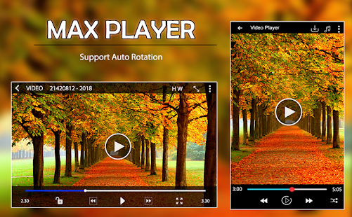MAX Player 2018 - 2018 Video Player - náhled
