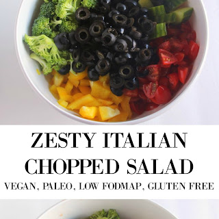 Zesty Chopped Italian Salad.