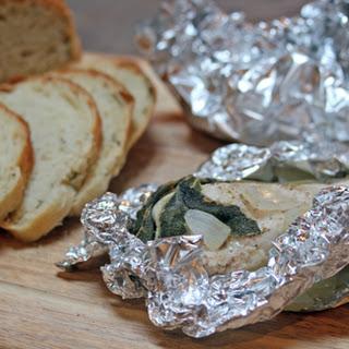 Grilled Sage Chicken Packets