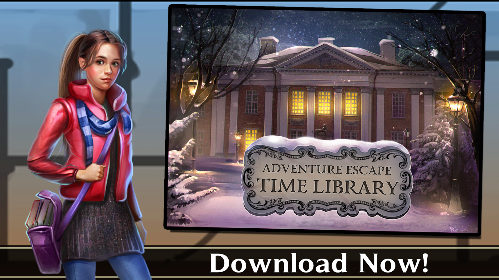 Adventure Escape: Time Library- screenshot
