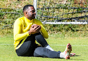 Itumeleng Khune of Kaizer Chiefs during the Kaizer Chiefs media open day at Kaizer Chiefs Village, Naturena on September 11, 2019 in Johannesburg, South Africa.