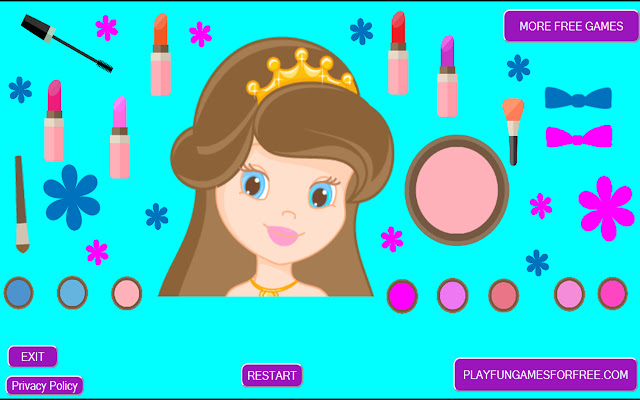 Princess Makeup Game