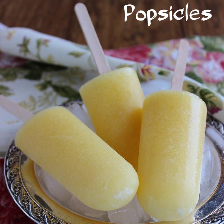 Pineapple Coconut Popsicles