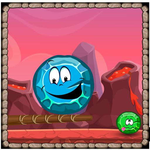 冒险の先史時代の石の秋 LOGO-記事Game