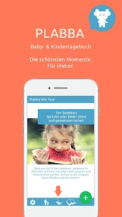 Plabba - Gratis Babytagebuch und Kindertagebuch - náhled