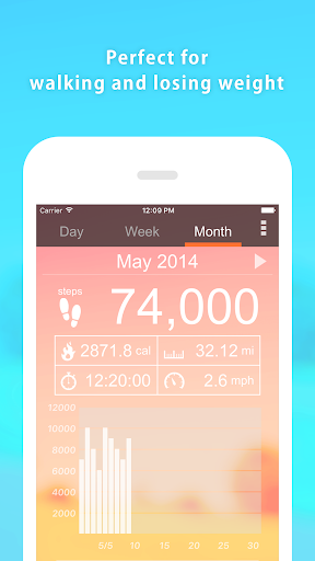 Pedometer - Step Counter screenshot 3