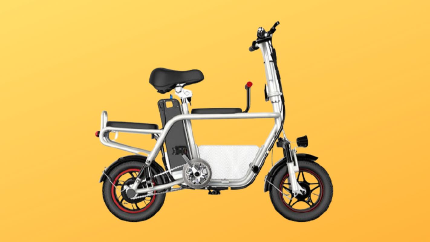 5. จักรยานไฟฟ้า HIMIWAY Folding Family E-BIKE