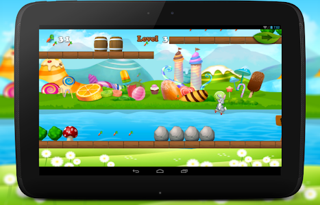 Bunny Dash Skater Adventure screenshot 17