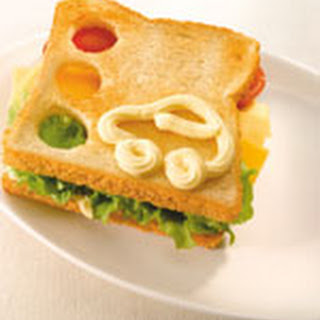 Stoplicht-sandwich