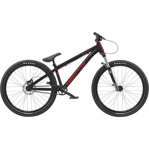 "Radio Griffin Pro 26"" BMX Bike - 22.8"" TT, Glossy Black"