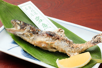 Photo: 岩魚の塩焼き