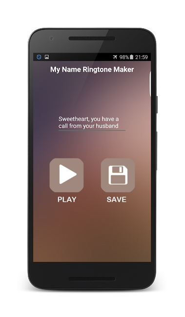 #5. My Name Ringtone Maker (Android)