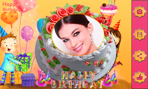 Download Name Photo On Birthday Cake Love Frames Editor On Pc