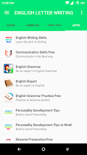 English letter writing apps on google play screenshot image altavistaventures Choice Image