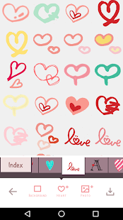 For heart stickers, My Heart Camera Screenshot