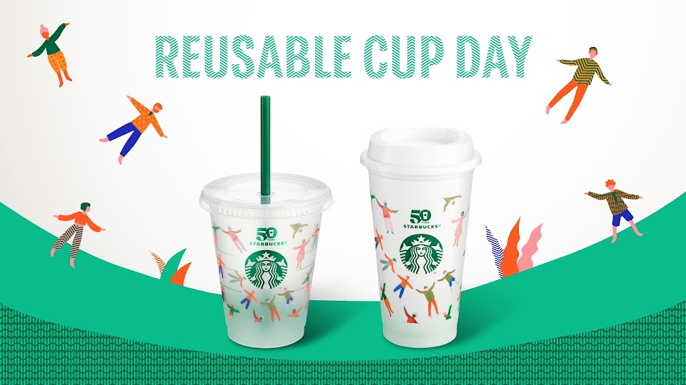 reusable cup day