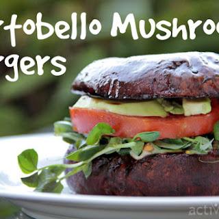 Portobello Mushroom Burgers [Vegan].