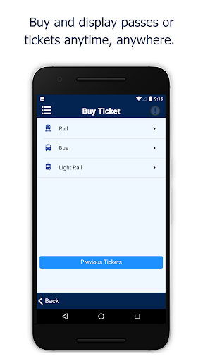 NJ TRANSIT Mobile App screenshot