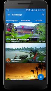 Facepage screenshot 2