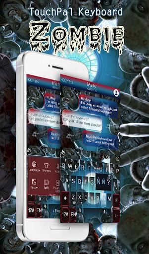 TouchPal Zombie Keyboard Theme