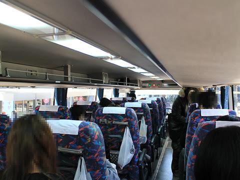 JR東海バス「新東名スーパーライナー11号」 744-04993 車内