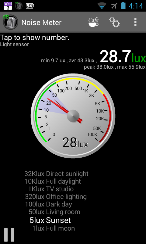 Noise Meter- screenshot