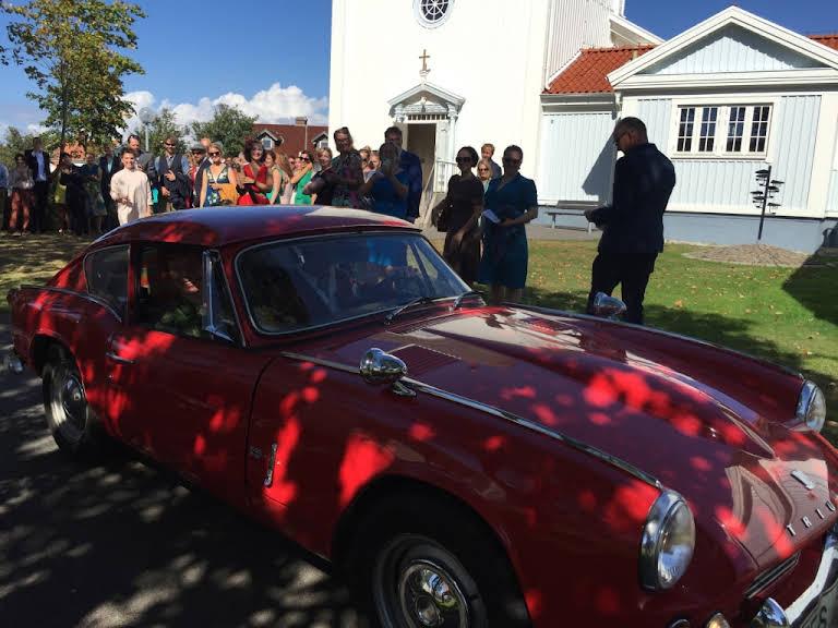 Triumph GT6 Hire Stockholm